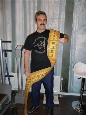 JOHAN -3,6 kg en –8,9 cm  Het werkt echt, ook voor mannen !!!